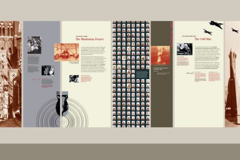 Peace & War graphic timeline, detail